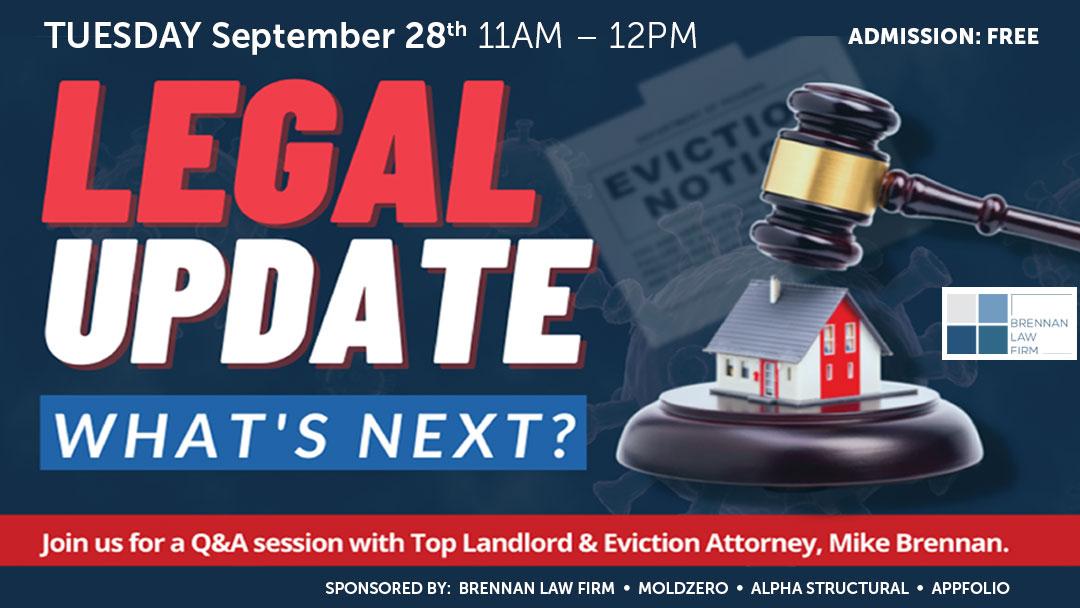 CalRHA | Online Event | Legal Update